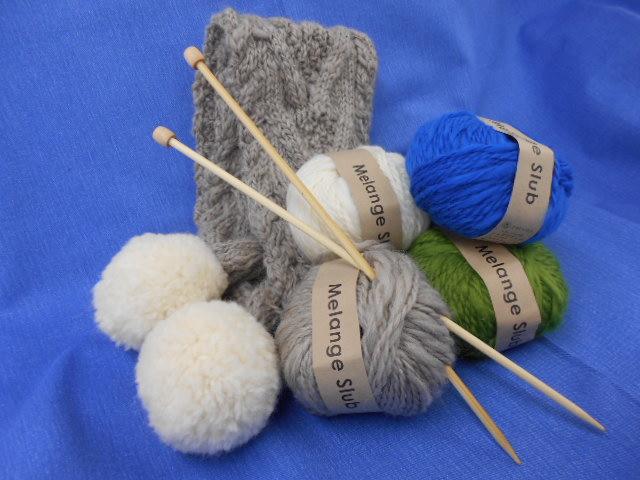 手編み     午後の部