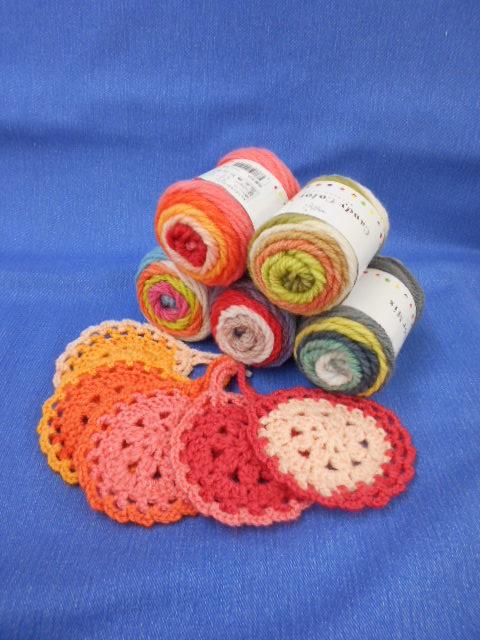 ワンポイント!   手編み講習会   午前の部