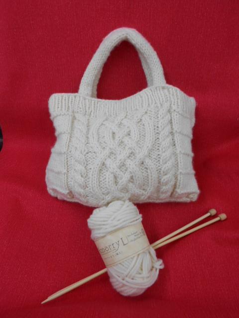 ワンポイント!   手編み講習会午後の部1