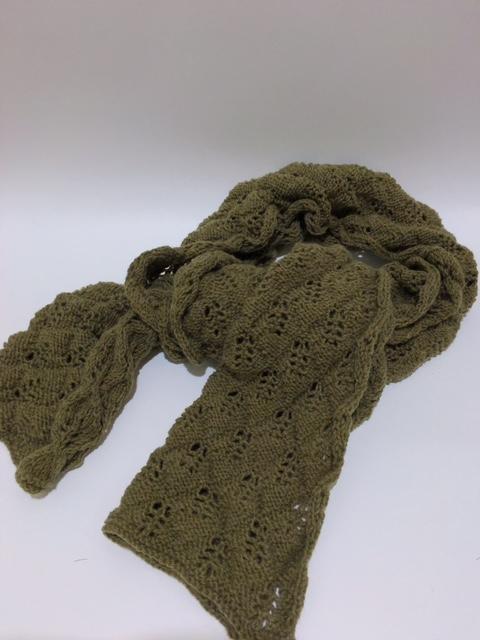 手編み【マンセル毛糸】