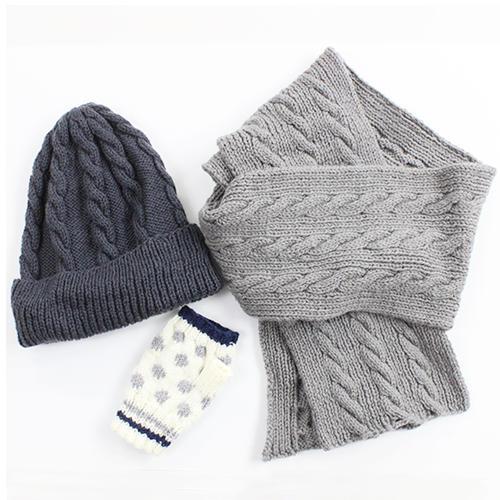 初めての手編み