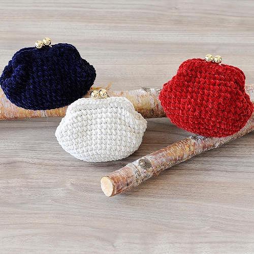 手編みでがま口を作って見よう!
