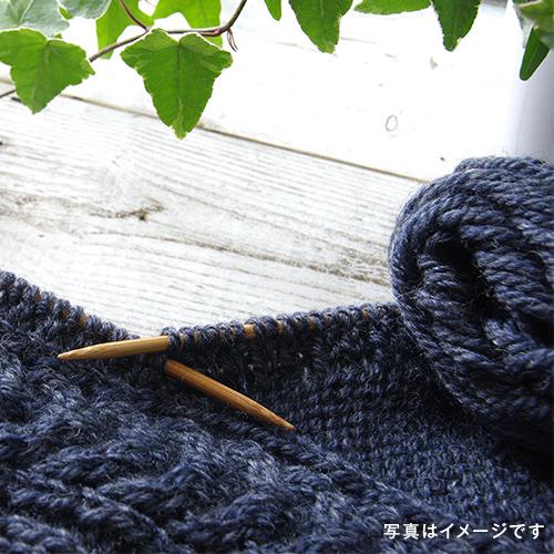 手編みワンポイント