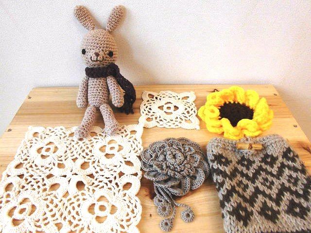 編み物午後の部