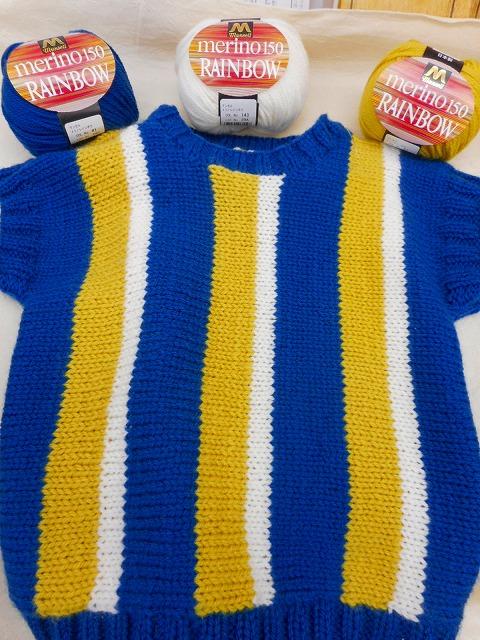マンセル毛糸手編みアドバイス