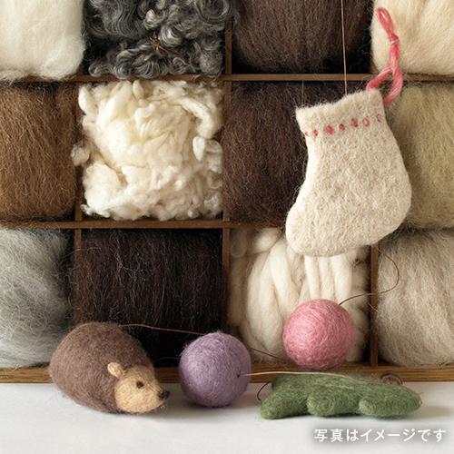 初めての羊毛フェルト