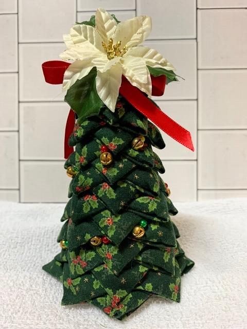 かんたんてまりのクリスマスツリー