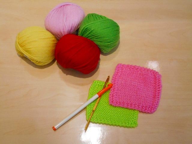 手編み(かぎ針)