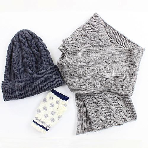 手編みのがま口作り