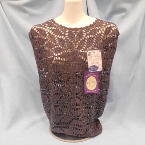 ダイヤ毛糸手編み